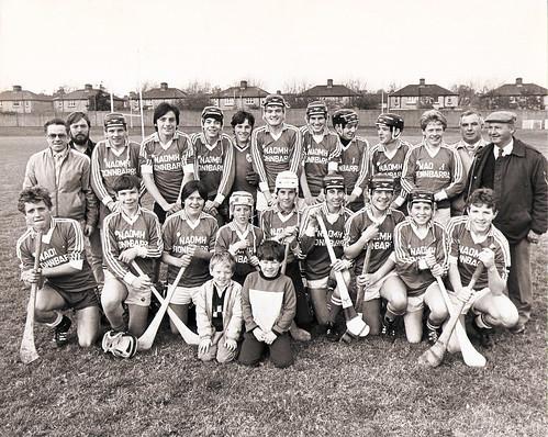 1980's Youth Team   by Naomh Fionnbarra GAA Club