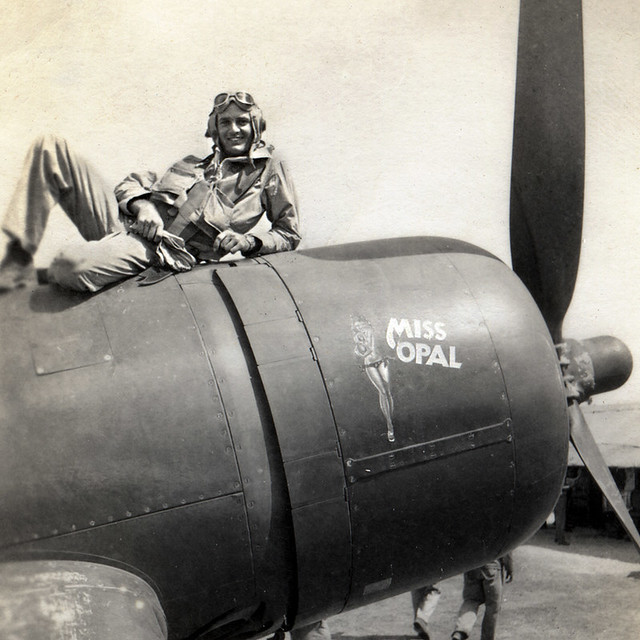 Elrid Spinas:  VMF-422  WWII