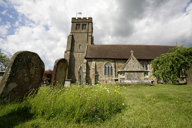 Biddenden village church - kent.