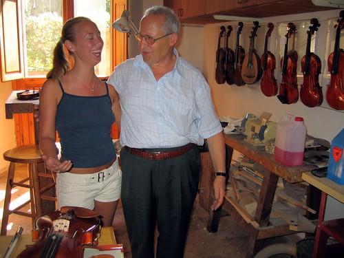 The Violinist and her Italian Violin Maker | by SpunkyGidget