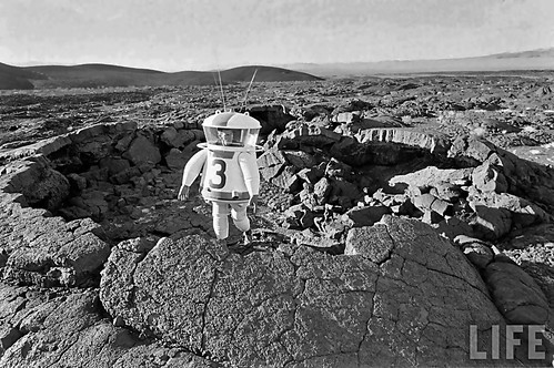 1962 ... testing lunar EVA suit   by x-ray delta one