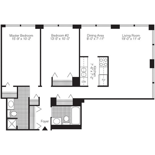 Pensacola Place - Chicago Uptown Luxury Apartment Living ...