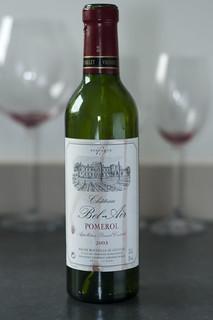 Pomerol, 2003 from Château Bel-Air