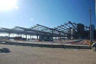 Construction on Pier 2