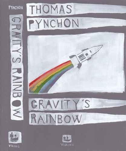 "Jennie Ottinger ""Gravity's Rainbow (book cover)"""