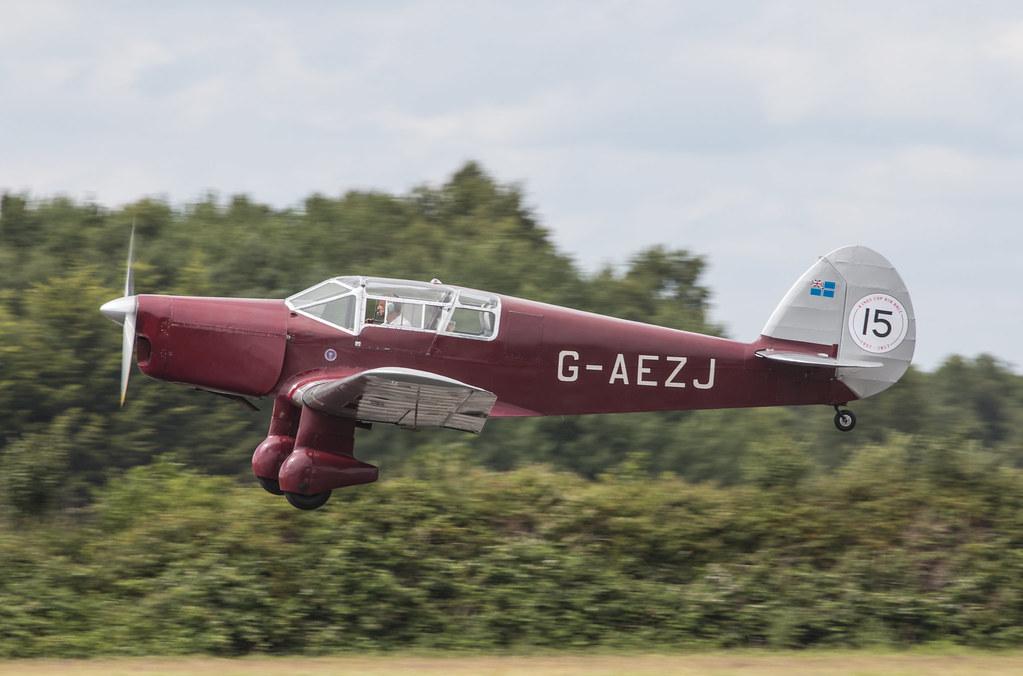 EGLK - Percival P10 Vega Gull - G-AEZJ