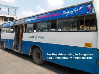Bangalore Bus Advertising