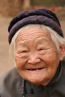 China Putzehei - portrait old Chinese woman | by Anja Disseldorp