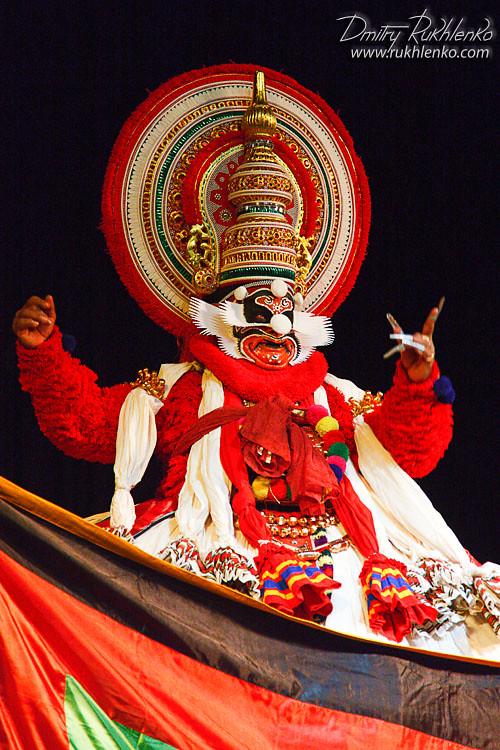 Kathakali dance  Bhava Bhavanam Festival  September 2009