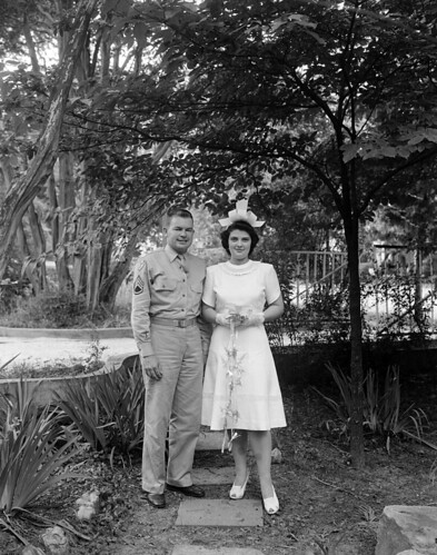 N_53_15_8050 Sergeant and Mrs Maple (sp) 1942 | by State Archives of North Carolina