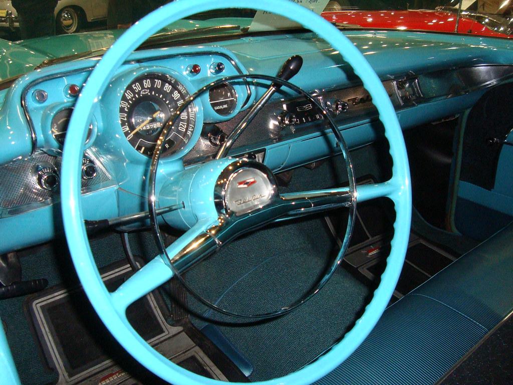 1957 Chevrolet Bel Air Townsman Station Wagon Interior Flickr
