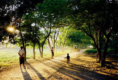 Sun Going Down on Myanmar | by Joe Le Merou
