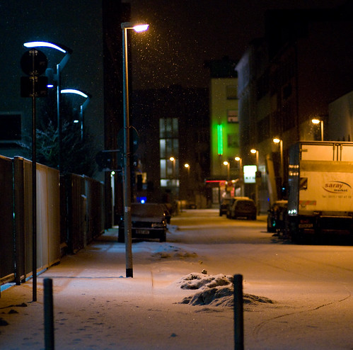 Snow and Lighting | by Ze Clou