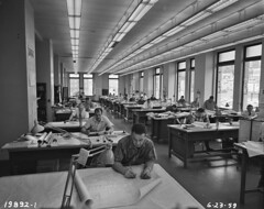 Engineers working on plans, 1959 | by Seattle Municipal Archives