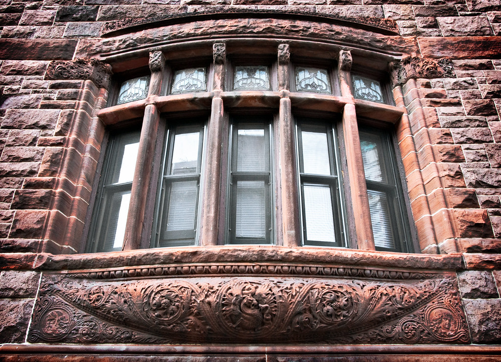 Bow Window Herman Behr House 1890 84 Pierrepont Street Brooklyn Heights