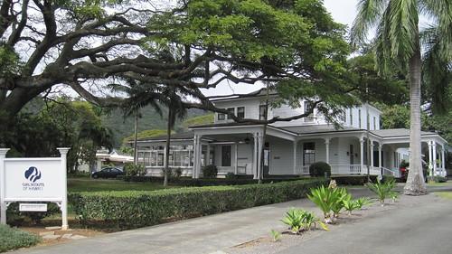 Old John T. Waterhouse, Jr., home, Wyllie St., Honolulu | by Joel Abroad