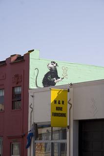 banksy in soma | by dennis