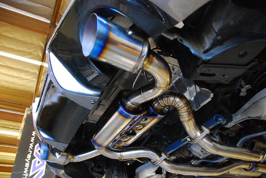MXP TITANIUM INFINITI G37 CPE EXHAUST | MACKIN INDUSTRIES | Flickr