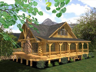 Log Home Floor Plans From Honest Abe Log Homes One Of 10 O Flickr