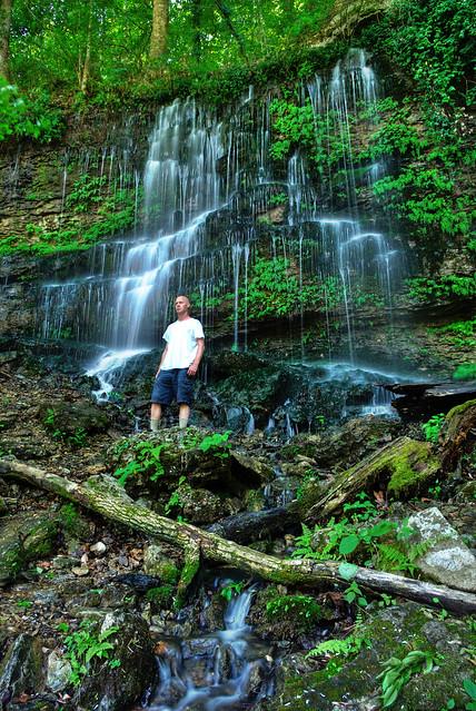 Curtain Falls, Jason Collard, Rock Island State Park, Warren Co, TN
