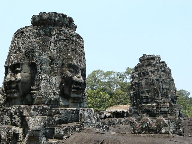 Templo de Bayon en Angkor (Maravilla arqueológica que ver en el Sudeste Asiático)