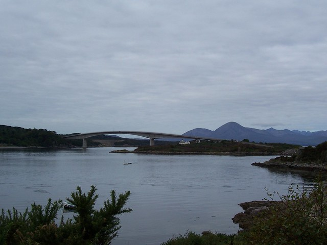 Isle of Skye Bridge, from Kyle of Lochalsh, Sep 2005