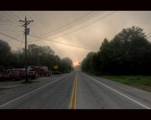 fog sunrise us70 kingstonspringstn