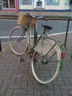 Nice old Dutch Look bike in Moorland Road, Bath | by t1mmyb