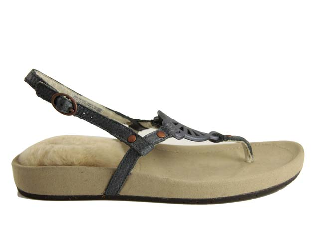 45fbfa1a76c Ugg Halendi White Leather Sandal Sapphire | www.uggtrue.com/… | Flickr