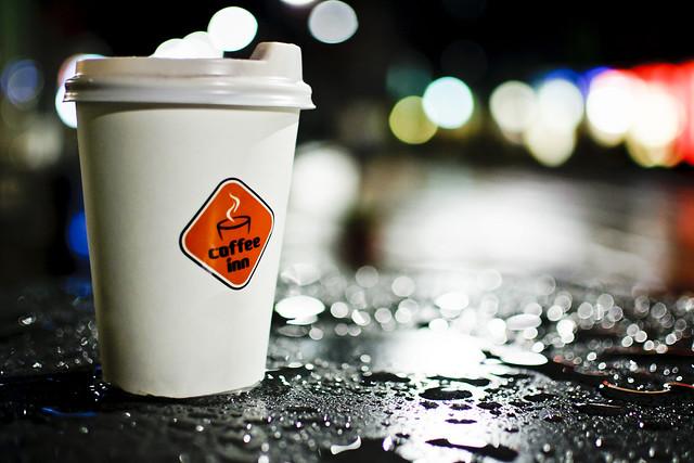 Latte in the rain #314/365