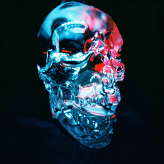 Crystal head angled - color