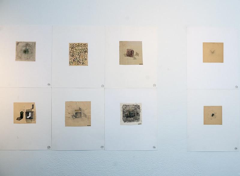 Werkschau.Galerie, München, Christoph Kern, Arbeiten auf Papier, 2017