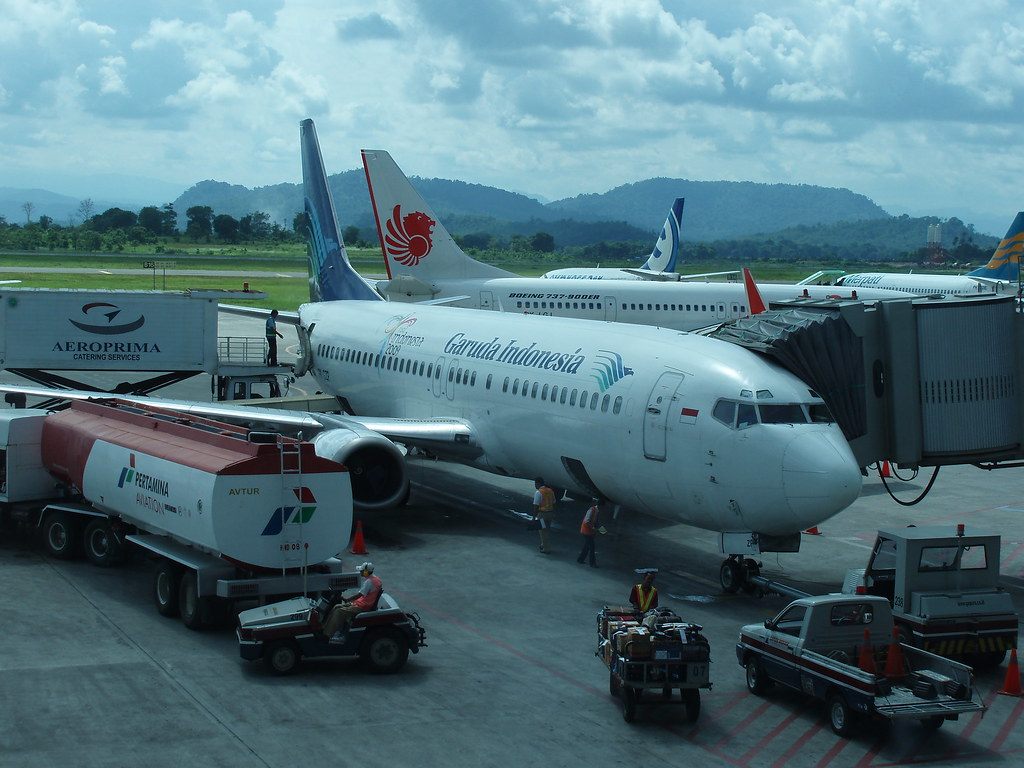 Garuda At Sultan Iskandar Muda Airport Banda Aceh Flickr