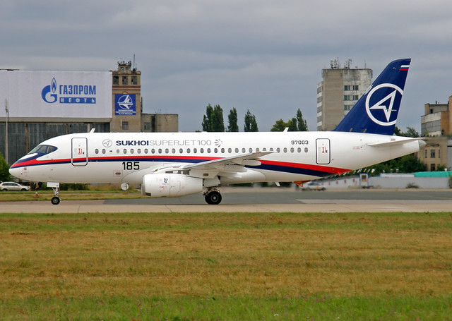 Sukhoi Super Jet 100 | The Sukhoi Superjet 100 is a modern