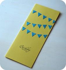 Banner birthday card 2 | by GlitterandFrills