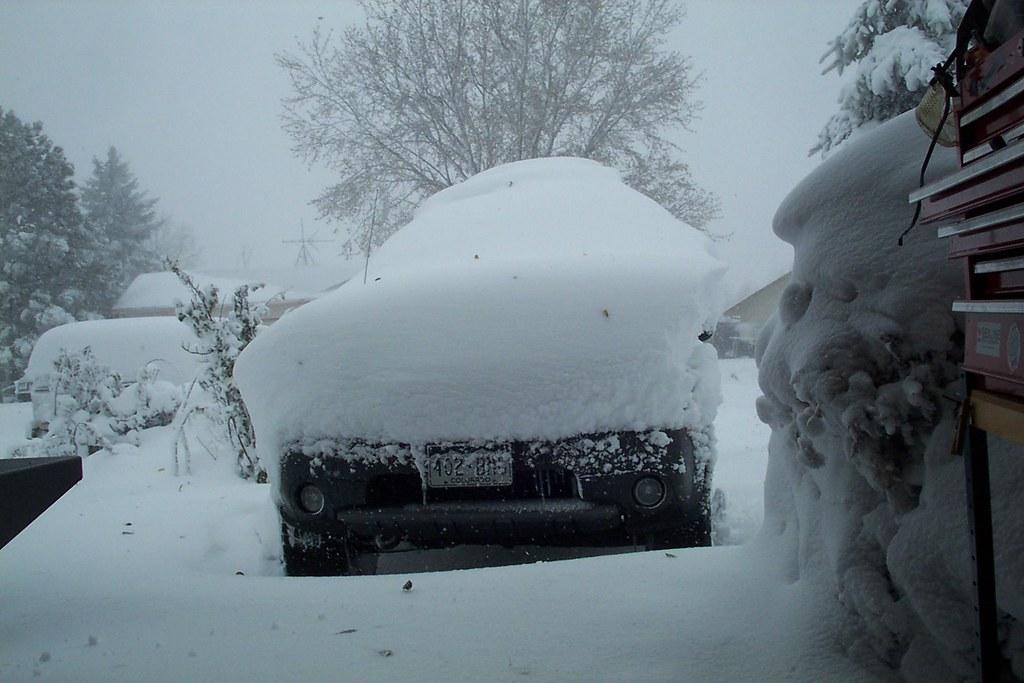 SNOW ON XTERRA