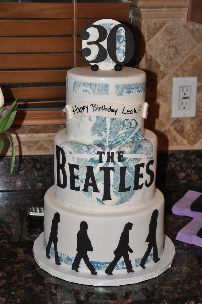 Beatles Cake This Birthday Cake Was Fora Die Hard
