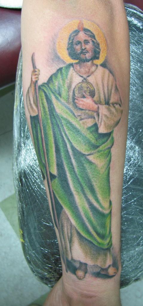 Saint Jude Tattoo   Fernando Casillas   Flickr