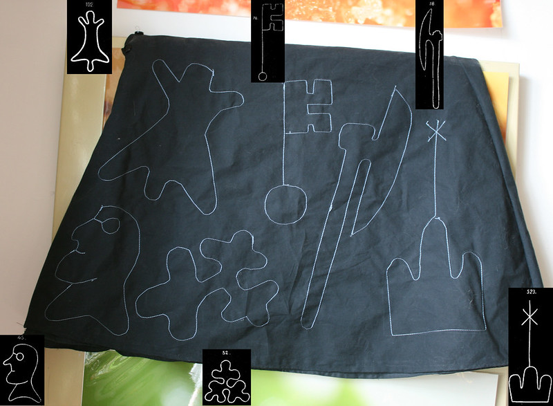 Watermark skirt, annotated (back)