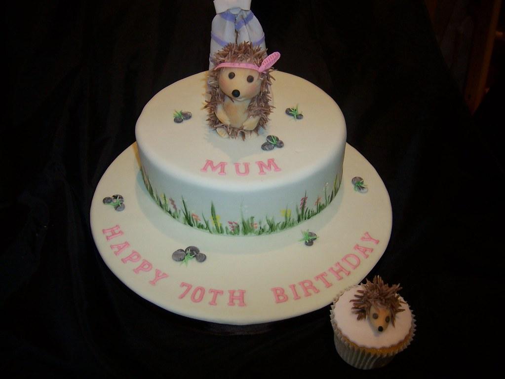 Super Hedgehog Birthday Cake I Finally Met The Birthday Lady Las Flickr Funny Birthday Cards Online Inifodamsfinfo