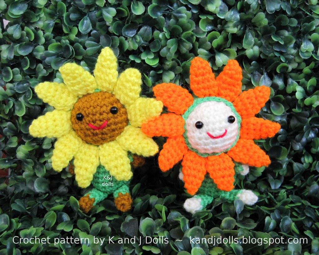 Sunflower Crochet Flower Pattern ⋆ Crochet Kingdom | 820x1024