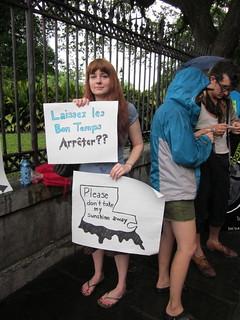 BP Oil Spill Protest Jax Square Sunshine