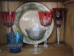 Sarospatak ceramics and Ajka Crystal