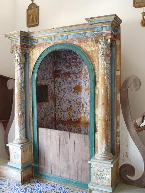 Panarea, îles Eoliennes, Italie: dans l'église