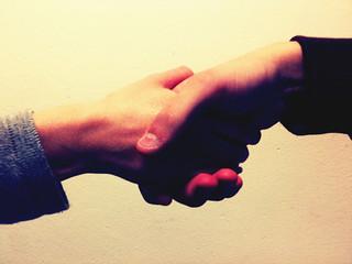 Shaking hands | by Chris-Håvard Berge