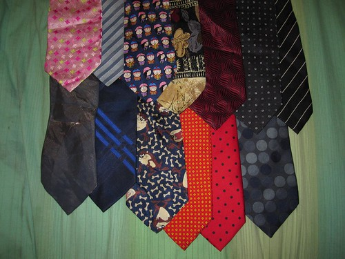 Tie collection | by zimpenfish
