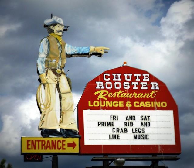 Chute Rooster Hill City, South Dakota