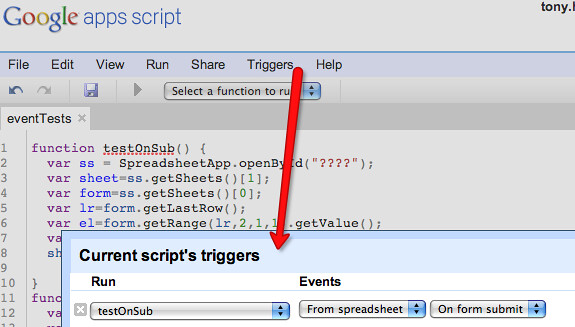 Google apps script - spreadsheet events   Tony Hirst   Flickr