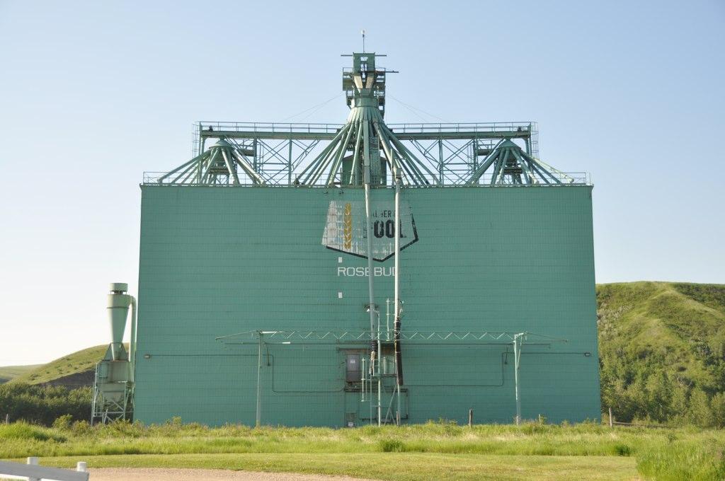 Grain Elevator - Rosebud, Alberta