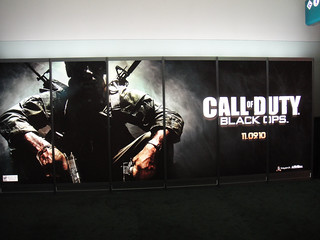 E3 2010 Call of Duty Black Ops banner | by Doug Kline